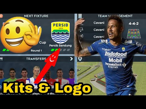 Dream League Soccer Mod Persib Bandung Edition Real Posisi - DLS 21 New Update Kits & Transfer 2020.