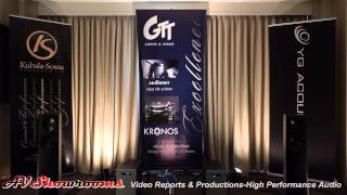 GTT Audio and Video, YG Acoustics Carmel 2, Audionet, Kronos, Kubala Sosna, AXPONA 2015
