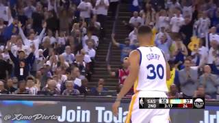 San Antonio Spurs vs Golden State Warriors   Full Highlights   Oct 25, 2016   2016 17 NBA Season