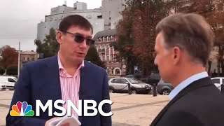 Ex-Ukraine Prosecutor Says He Spoke With Rudy Giuliani 'Maybe 10 Times' | Andrea Mitchell | MSNBC