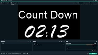 StreamLabs OBS - Timer, Count Down, Speed Runners