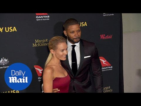 Nicky Whelan and Kerry Rhodes on the G'Day USA 2017 red carpet  Daily Mail