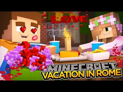 Minecraft Date Night: GETTING ENGAGED IN ROME?