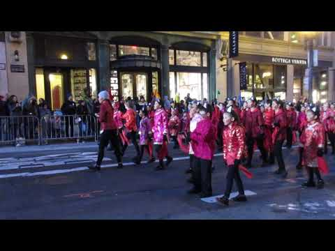 San Francisco Chinese New Year Parade 2018 Chinese Immersion School at DeAvila