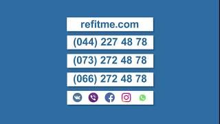 REFITME - sayt ta'mirlash xizmatlari iPhone uchun