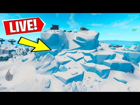 *NEW* FORTNITE POLAR PEAK CRACKING RIGHT NOW?! (24/7 Event Watch Livestream)