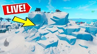 *NEW* FORTNITE POLAR PEAK CRACKING RIGHT NOW?! (24/7 Event Watch Livestream)