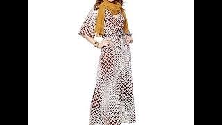 """Nikki Poulos """"Suki"""" Surplice Printed Maxi Dress"""