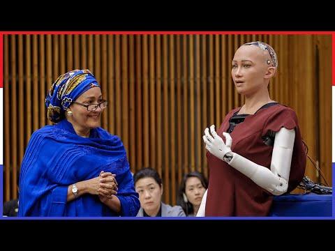10 Engste Dingen Gezegd Door AI Robots!