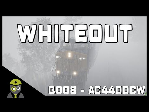 Train Sim World: CSX Heavy Haul (PC) - Whiteout - Service# Q008