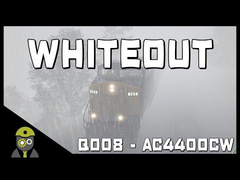 Train Sim World: CSX Heavy Haul (PC) - Whiteout - Service# Q008