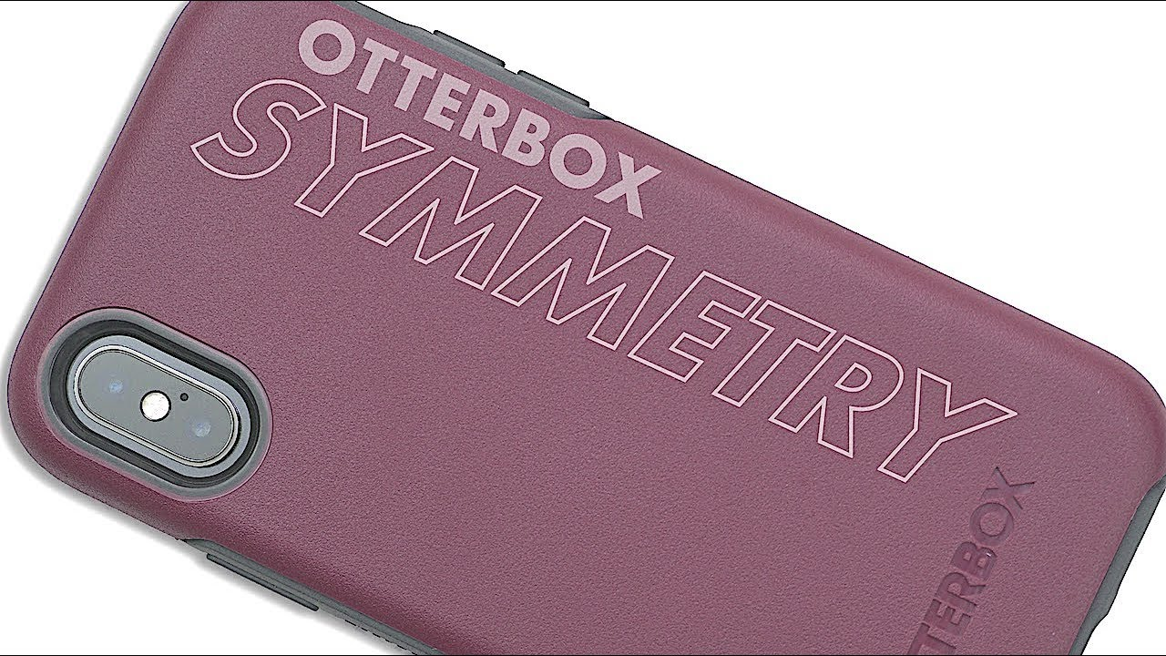 new product 7a8e5 560e0 OtterBox SYMMETRY Series Case for iPhone X/XS | Review