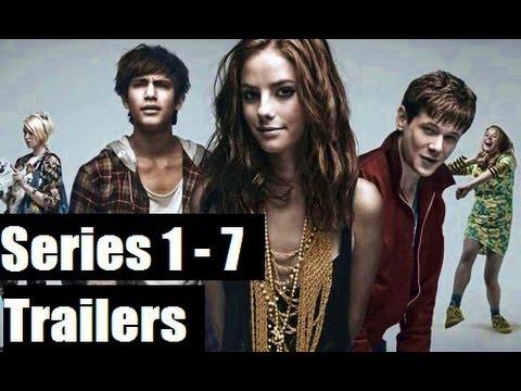 Skins Trailers (Series 1 to 7) HD