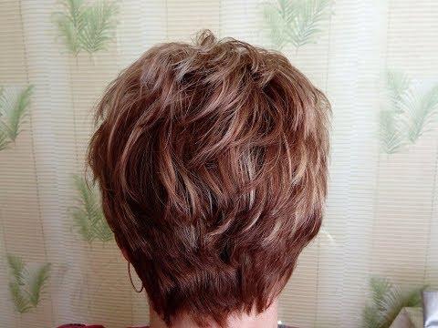 Короткая стрижка на вьющиеся волосы