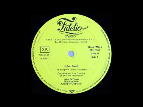 John Field, Piano concerto no 6, 1and 2 mov, John O'conor, Piano