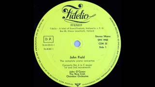 John Field, Piano concerto no 6, 1and 2 mov, John O