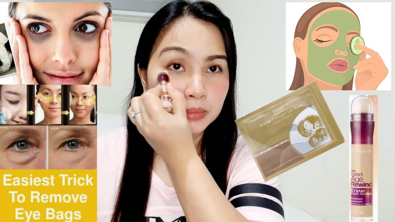 Solusyon sa Eyebags   How to Get Rid of Eyebags   Maybelline Age Rewind Eraser Dark Circle