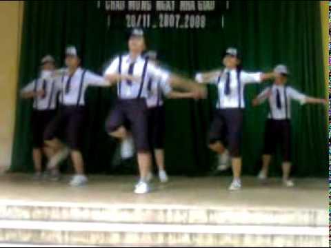 Nhảy hiện đại Chung kết 20-11 lớp 10C1 THPT Nam Hà (2007-2008)