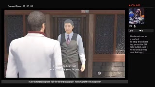 What I'm playing now...Yakuza 6 Demo part 2 finale....