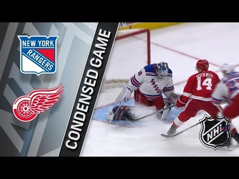 New York Rangers vs Detroit Red Wings – Dec. 29, 2017 | Game Highlights | NHL 2017/18. Обзор матча