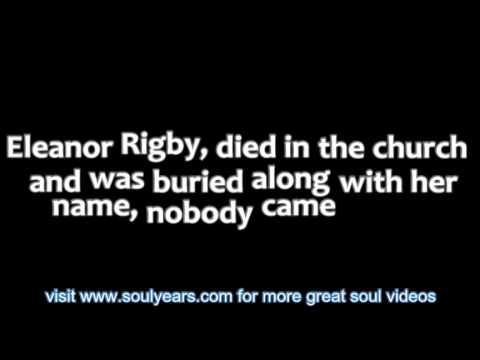 Aretha Franklin - Eleanor Rigby (with lyrics)