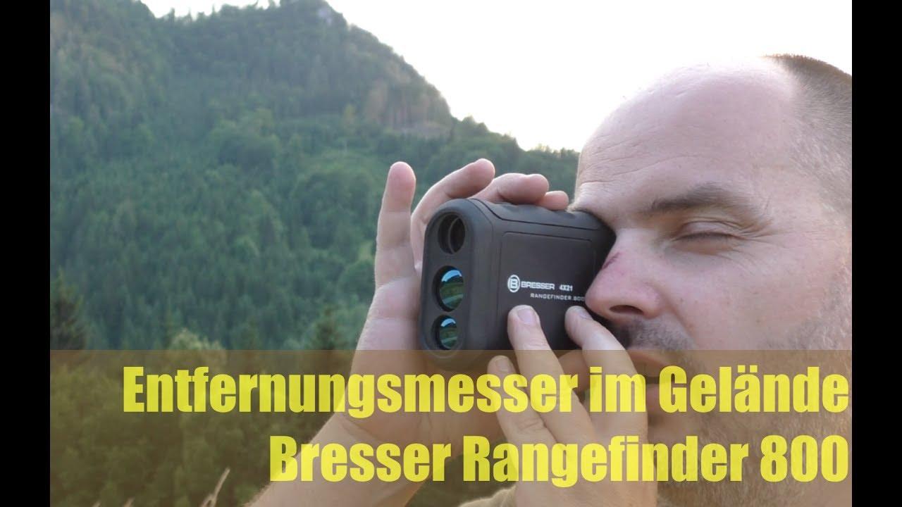 Entfernungsmesser Für Die Jagd : Gut günstig entfernungsmesser bresser rangefinder youtube