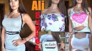 Покупки С AliExpress.Дешевые Покупки Одежды с Aliexpress. HAUL