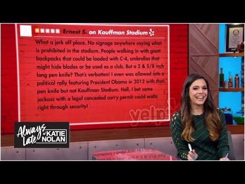 The angriest one-star stadium reviews on Yelp | Always Late with Katie Nolan – ESPN