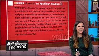 The angriest one-star stadium reviews on Yelp | Always Late with Katie Nolan