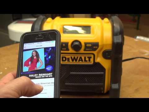 DEWALT DCR002 Bluetooth Radio Adapter