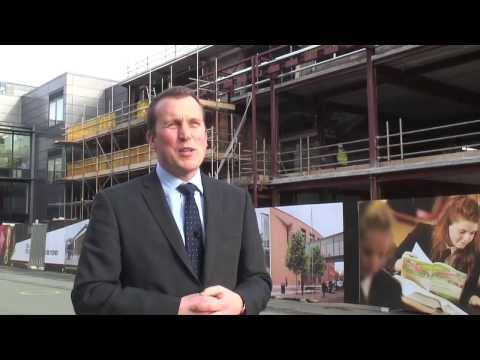 Building the Sixth Form centre at Portsmouth Grammar School