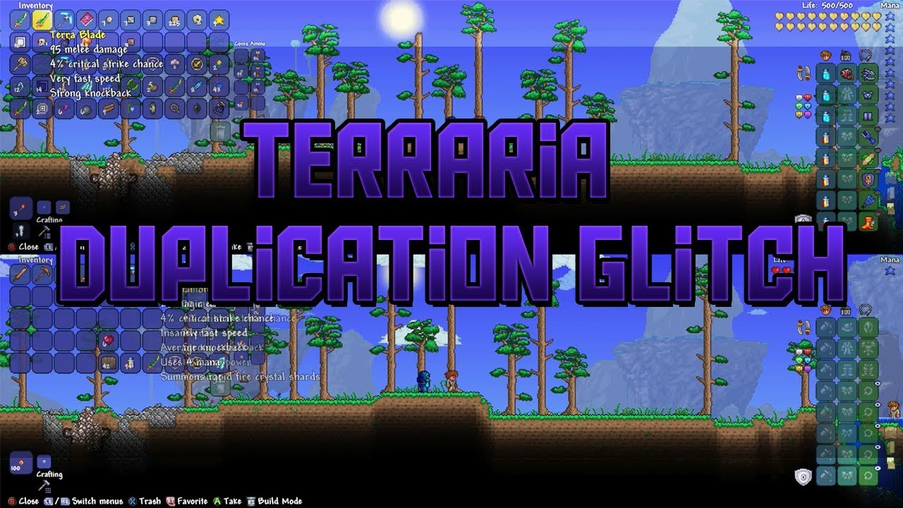 *NEW* Terraria Xbox One/PS4 Duplication Glitch (WORKING)