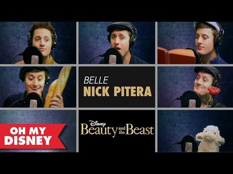 "Nick Pitera Sings ""Belle"" From Beauty and the Beast 