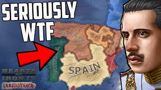 What If Spain Was An ABSOLUTE MESS HOI4 La Resistance (Hearts of Iron 4)