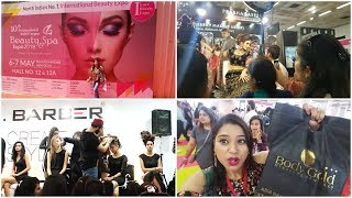 Vlog : International Beauty and Spa Expo 2019 | New Event In Pragati Maidan | Indian Mom Studio