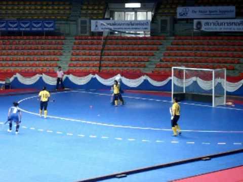 Indoor Hockey: Malaysia vs Thailand (2)