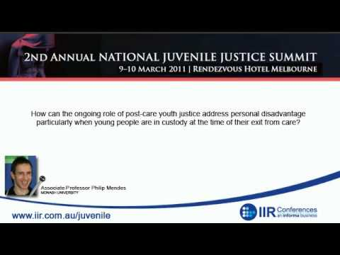 IIR Interview - Associate Professor Philip Mendes on Australia's youth justice system