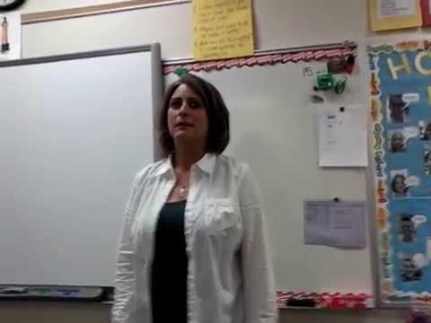Choir teacher cartwheel