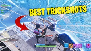 The ULTIMATE Fortnite Trickshots Compilation... 🎯