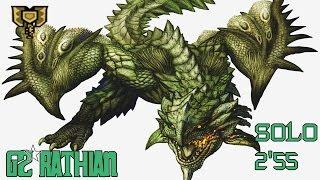 ┌MHXX/MHGU┘ G2★ - Rathian || 2'55 - Striker Charge Blade