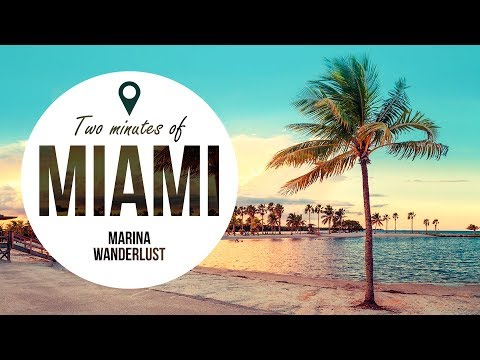 Miami Florida Travel Guide in 2 Minutes | Map Inside Video