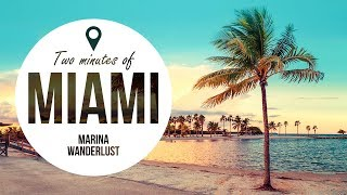 Top 10 Miami Attractions | Travel Guide in 2 Minutes | Map Inside Video