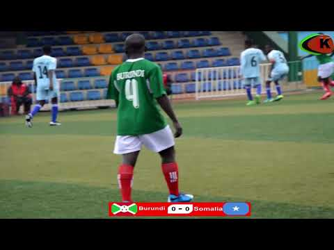 BURUNDI 0 - 0 SOMALIA  #CECAFA U17