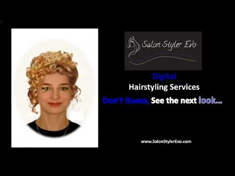 find the right hairstyle for me free - YouTube