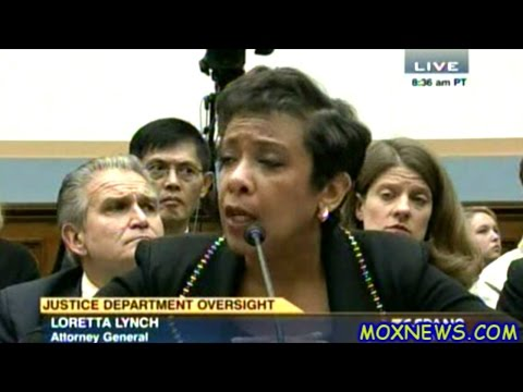 Attorney General Loretta Lynch Grilled By Members Of Congress Left And Right!