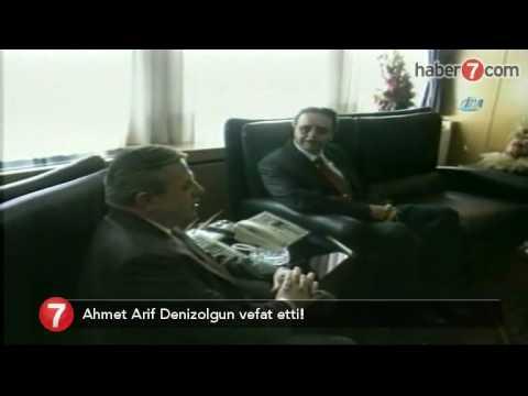 Süleyman Efendi Hazretlerinin torunu olan  Süleymanlıların lideri Ahmet Arif Denizolgun vefat etti !