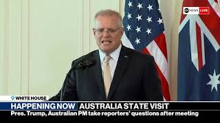 WATCH LIVE: President Trump holds news conference with Australian PM at the White House