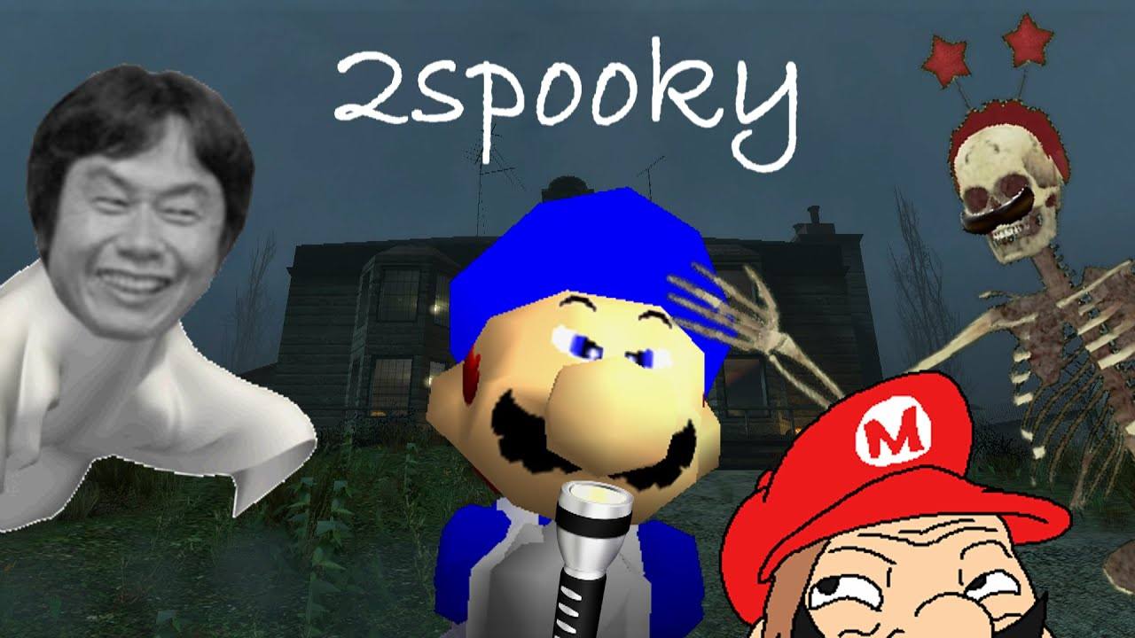 Download SM64 halloween 2015:  The 2Spooky story