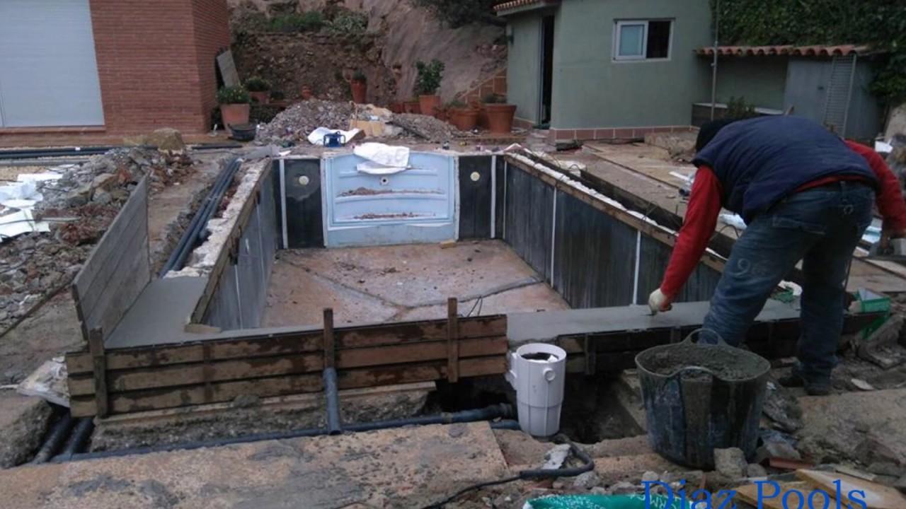 Reparaci n integral de piscina desjoyaux finalizada en for Reparacion piscinas barcelona
