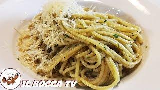 323 - Spaghetti all'acciugata...questa si che è 'na magata! (primo piatto facile semplice e veloce)